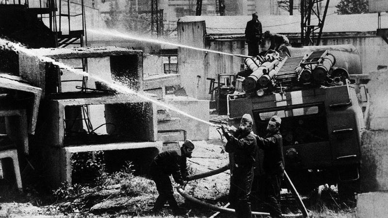 К 35-летию аварии на Чернобыльской АЭС